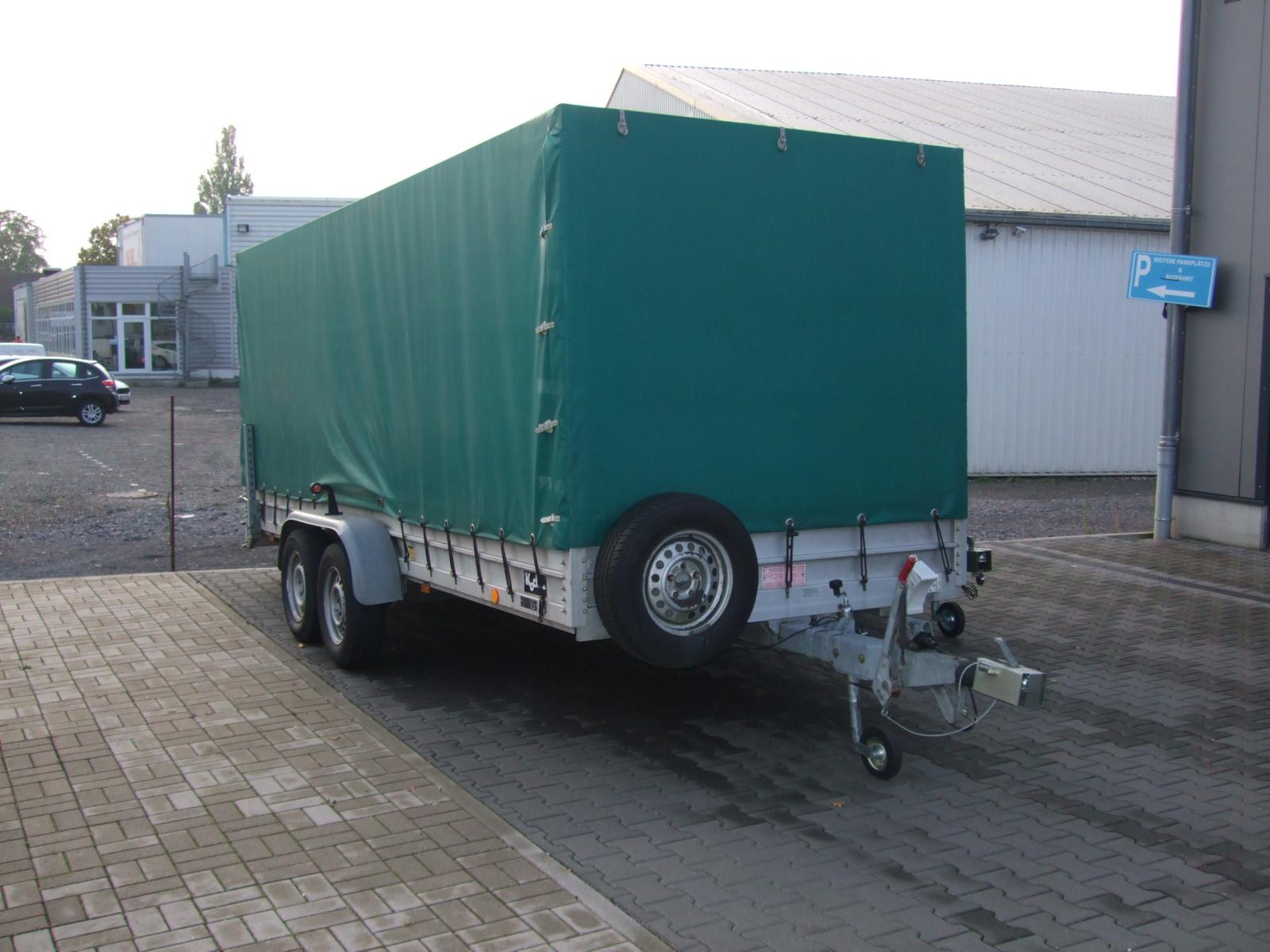 Anhängerverleih 750 kg gross 1