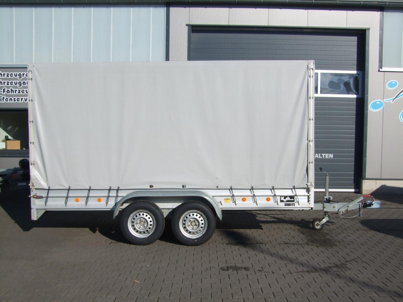 Anhängerverleih 2000 kg 4 Meter