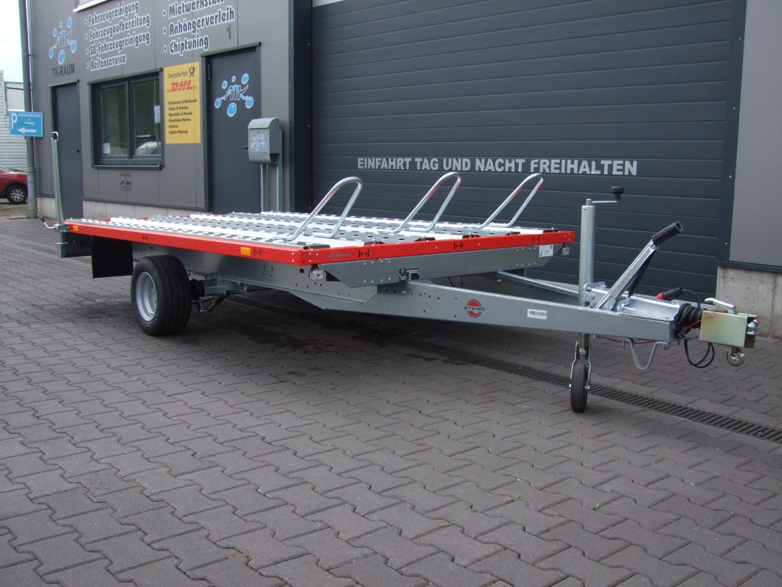 Motorradanhänger 1500 kg