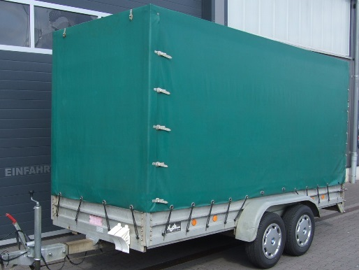 Anhängerverleih 2000 kg 4 Meter Tandemanhänger
