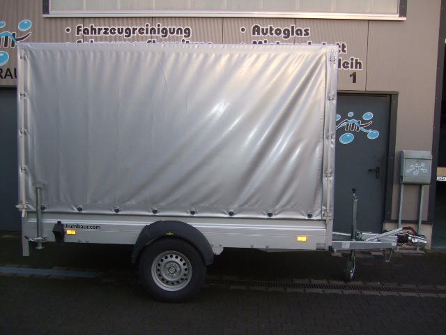 Anhängerverleih 2000 kg 3 Meter Tandemanhänger
