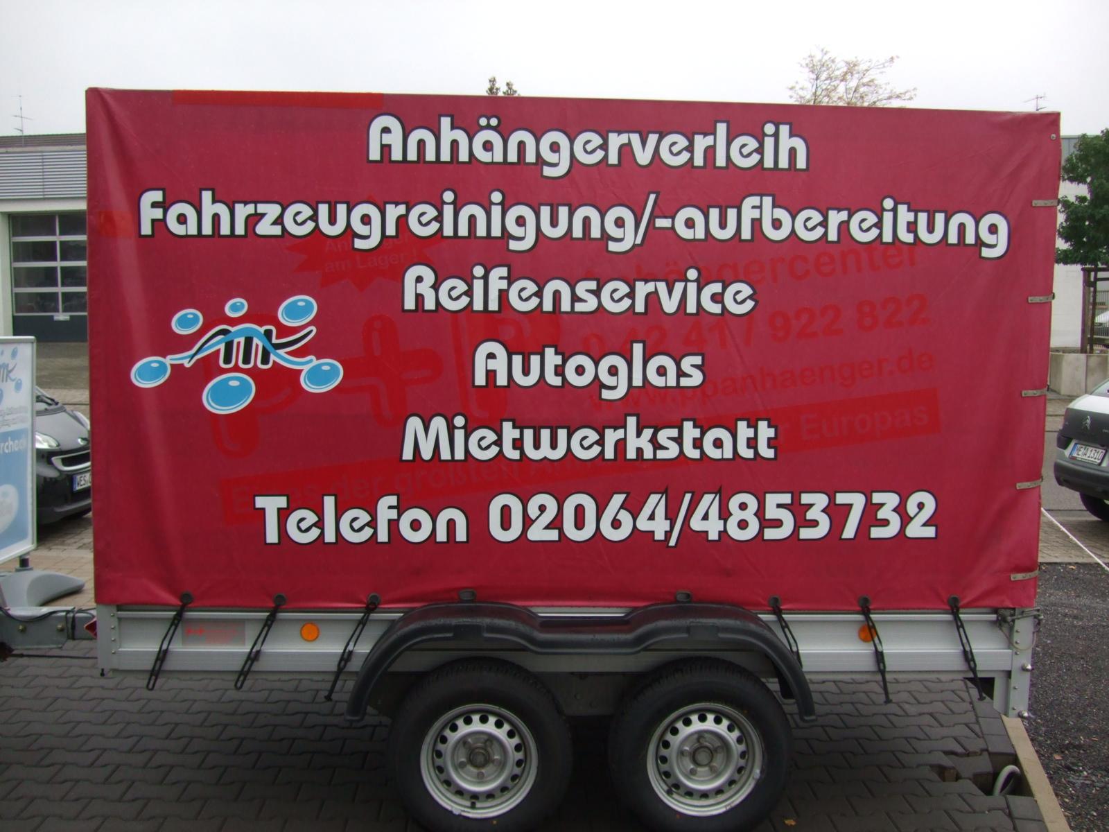 Anhängerverleih 2000 kg 3 Meter
